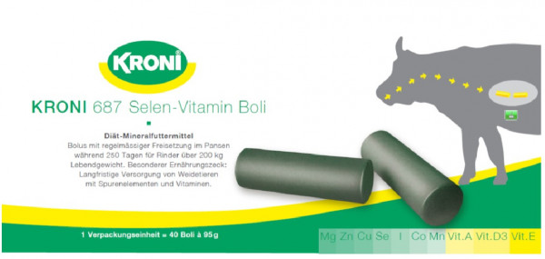 KRONI 687 Selen-Vitamin Boli