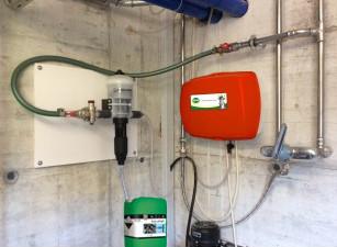 KRONI Hygiene Sprühsystem Dosatron