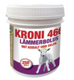 KRONI 466 Lämmerbolus mit Kobalt und Selen